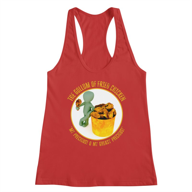 The Gollum of Fried Chicken Women's Tank by MaddFictional's Artist Shop