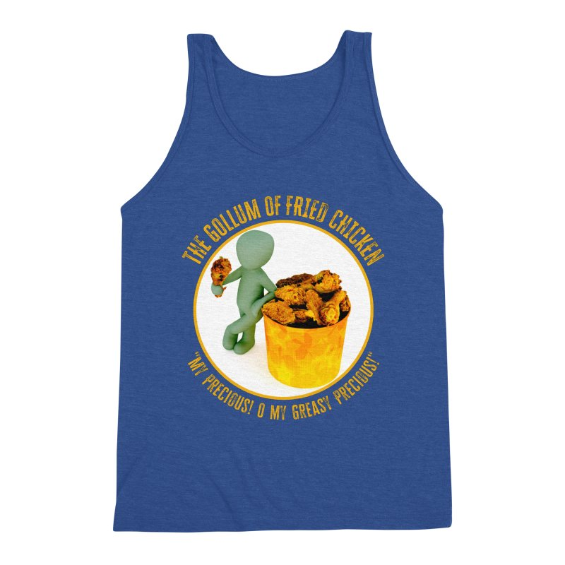 The Gollum of Fried Chicken Men's Tank by MaddFictional's Artist Shop