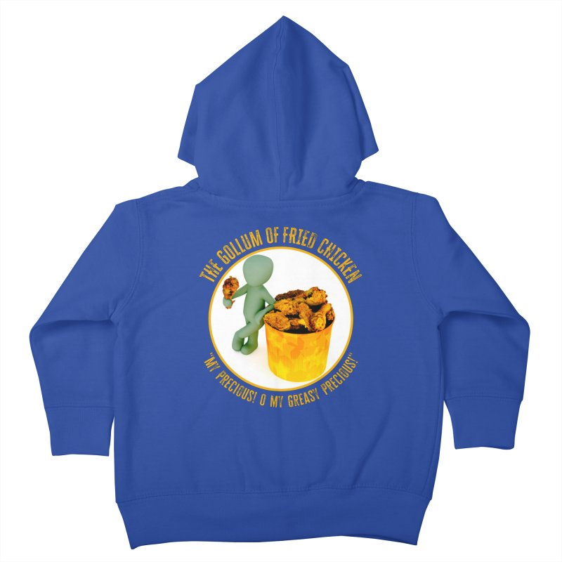 The Gollum of Fried Chicken Kids Toddler Zip-Up Hoody by MaddFictional's Artist Shop