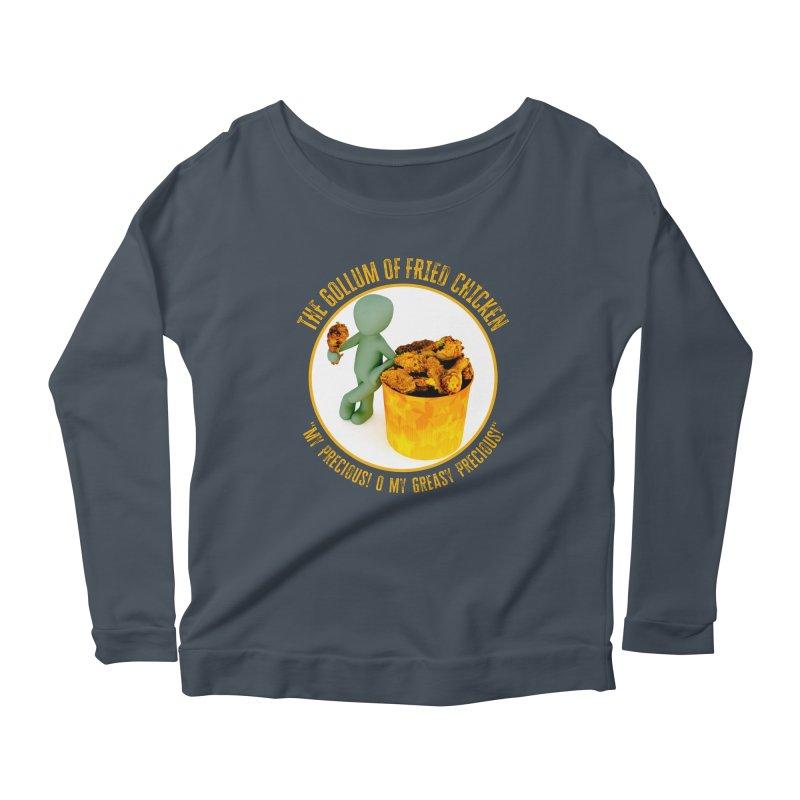 The Gollum of Fried Chicken Women's Longsleeve T-Shirt by MaddFictional's Artist Shop