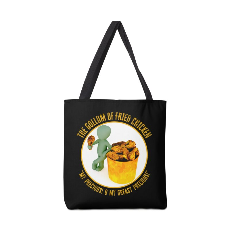 The Gollum of Fried Chicken Accessories Bag by MaddFictional's Artist Shop