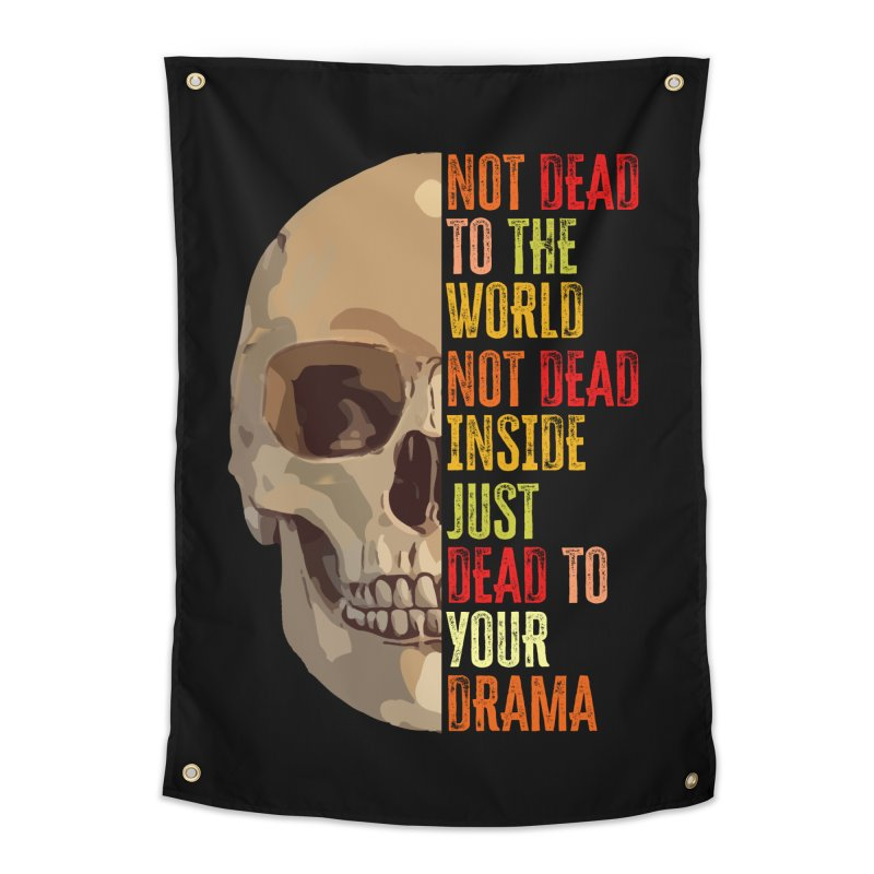 Not Dead Home Tapestry by MaddFictional's Artist Shop