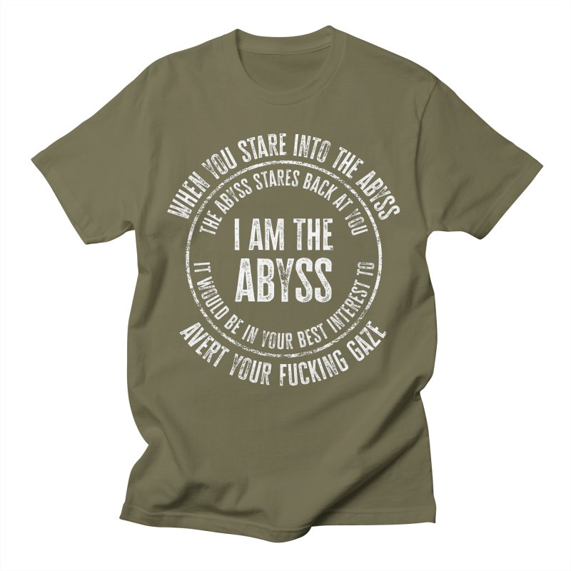 I Am The Abyss Men's T-Shirt by MaddFictional's Artist Shop