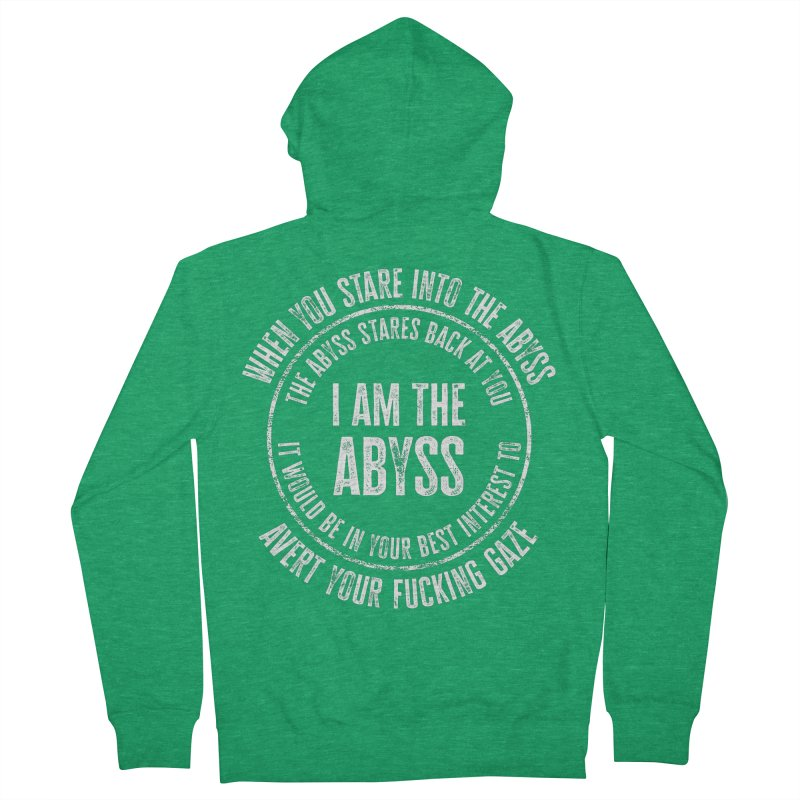 I Am The Abyss Women's Zip-Up Hoody by MaddFictional's Artist Shop