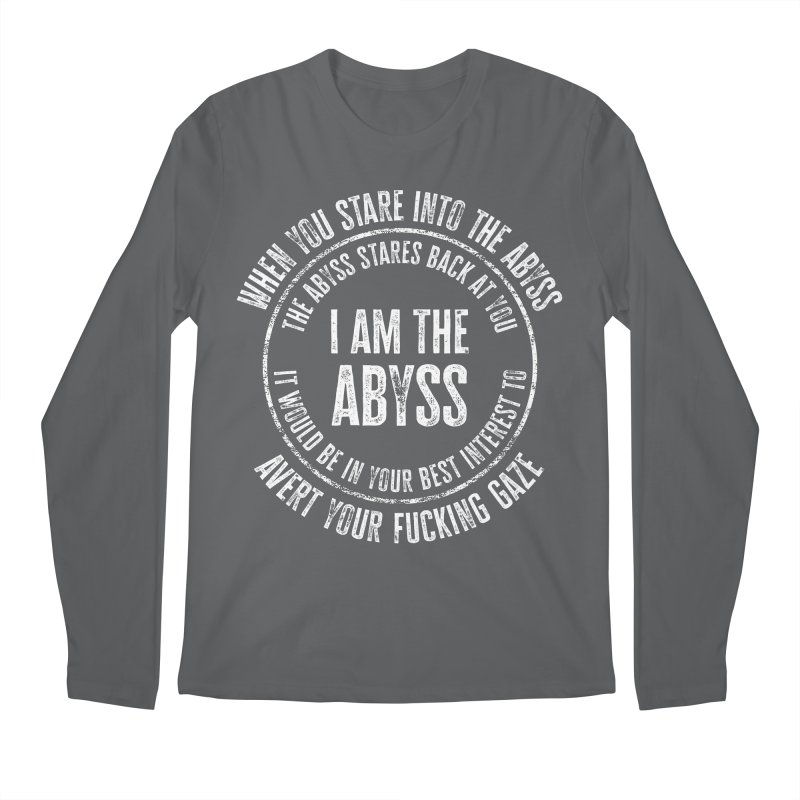 I Am The Abyss Men's Longsleeve T-Shirt by MaddFictional's Artist Shop