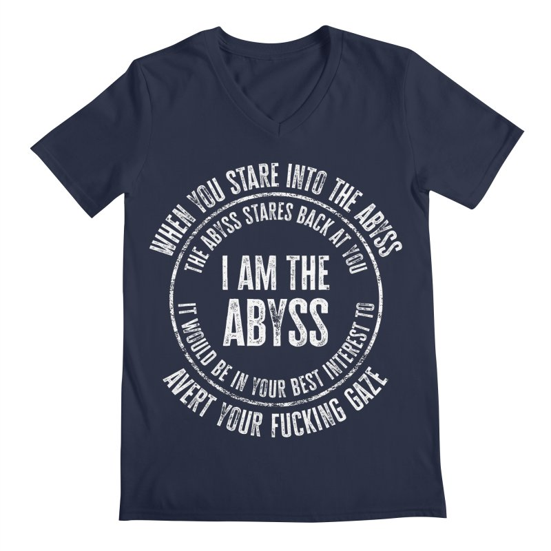 I Am The Abyss Men's V-Neck by MaddFictional's Artist Shop