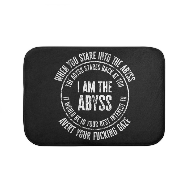 I Am The Abyss Home Bath Mat by MaddFictional's Artist Shop