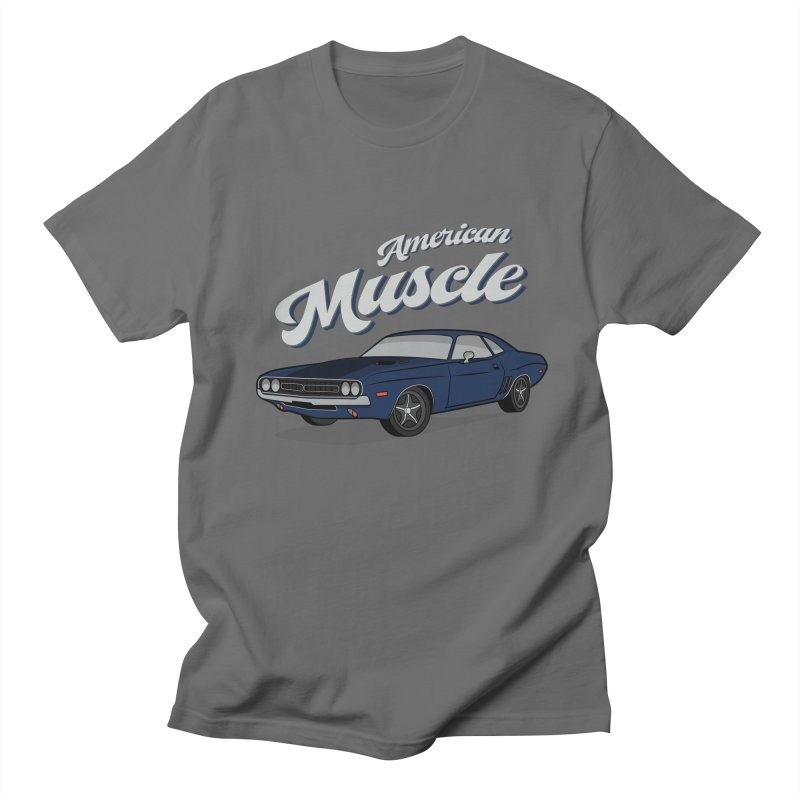 American Muscle Car 60s 70s Vintage T-shirt Men's T-Shirt by MadeByBono