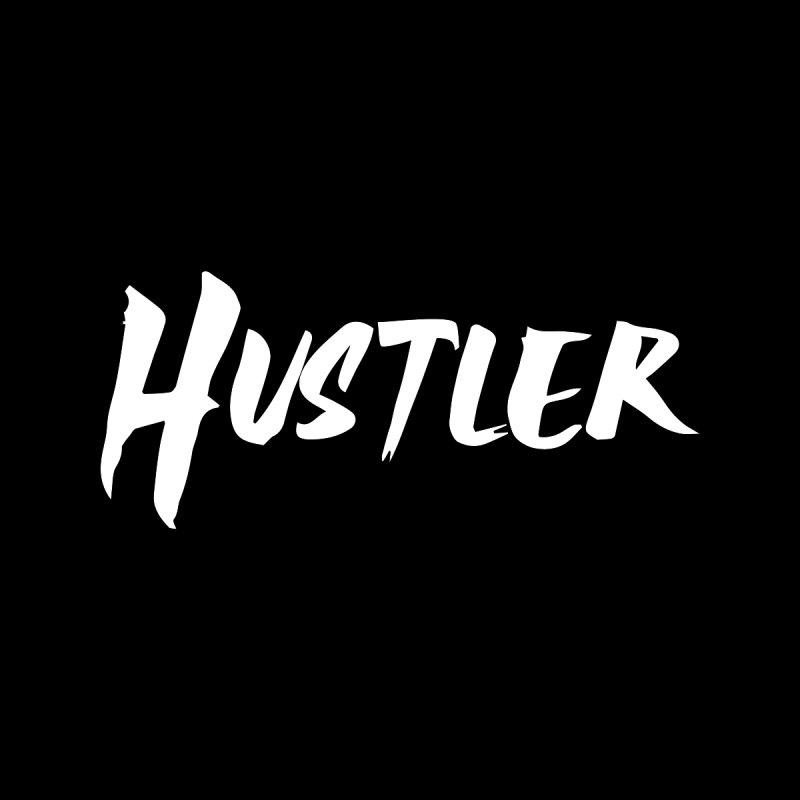 Hustler T-shirt Men's Zip-Up Hoody by Made By Bono