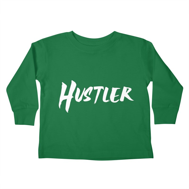 Hustler T-shirt Kids Toddler Longsleeve T-Shirt by MadeByBono