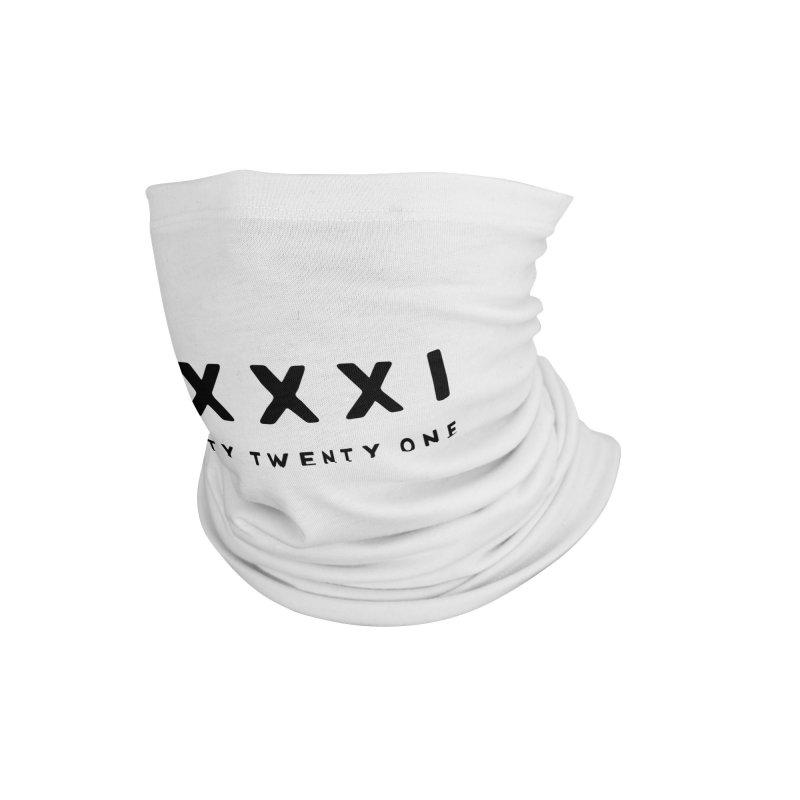 2021 Twenty Twenty One XXXXI New Year Accessories Neck Gaiter by Made By Bono