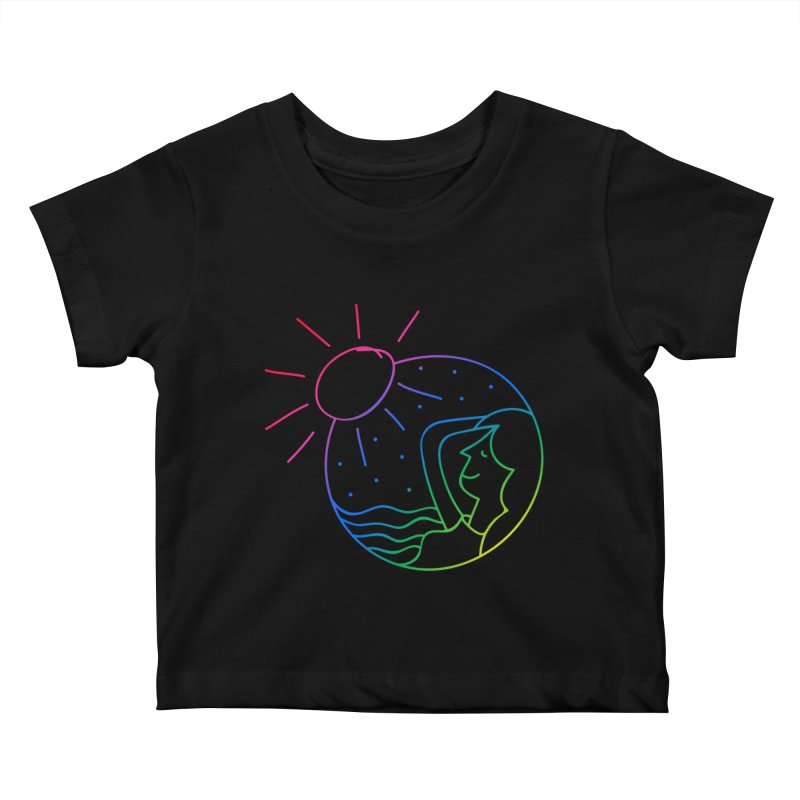 Dreaming Girl (Marriage Ring Daydreaming) Kids Baby T-Shirt by Made By Bono