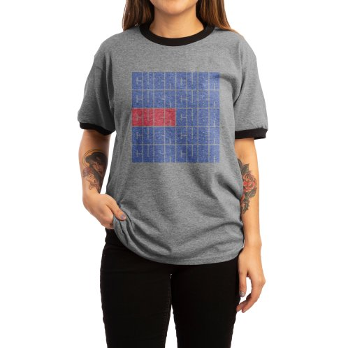 image for Cuba Cuban Flag Distressed Bandera de Cuba T-shirt