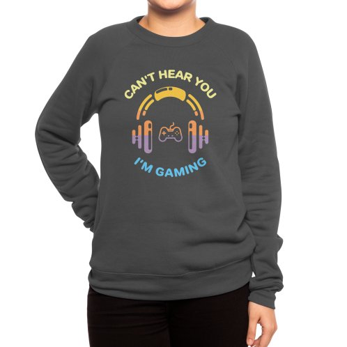 image for Funny Gamer Gift Headset Can't Hear You I'm Gaming T-shirt