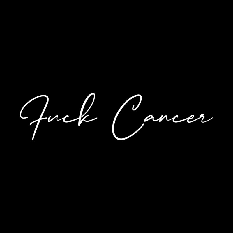 Fuck Cancer - Breast Cancer Awareness - Cancer Survivor T-shirt Men's T-Shirt by Made By Bono
