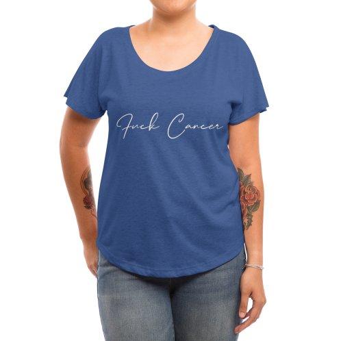 image for Fuck Cancer - Breast Cancer Awareness - Cancer Survivor T-shirt