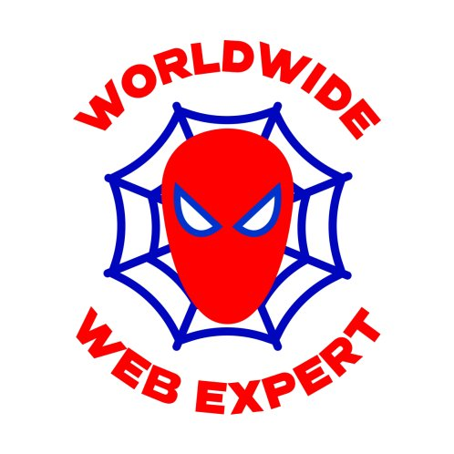 Design for Worldwide Web Expert Funny T-shirt