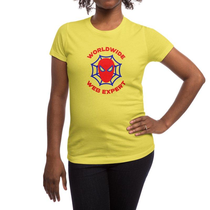 Worldwide Web Expert Funny T-shirt Women's T-Shirt by Made By Bono