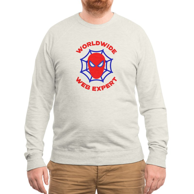 Worldwide Web Expert Funny T-shirt Men's Sweatshirt by Made By Bono