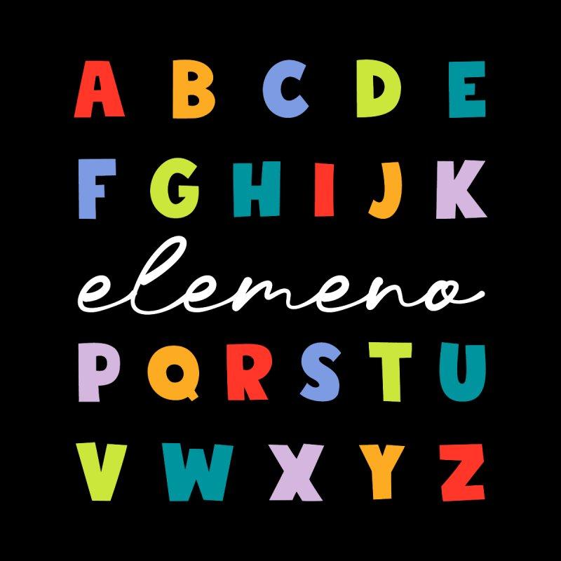 Elemeno Alphabet - Preschool Kindergarten - School Teacher T-Shirt Women's Tank by Made By Bono