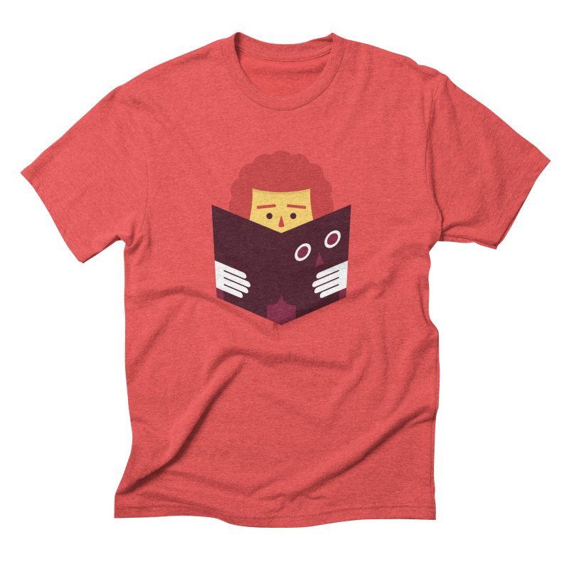 Back To School Funny Reading T-shirt Men's T-Shirt by Made By Bono