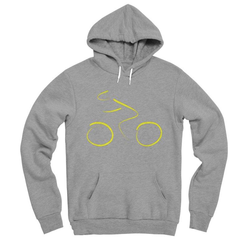 Bike lovers T-shirt Funny Cycling Shirt Men's Sponge Fleece Pullover Hoody by MadeByBono