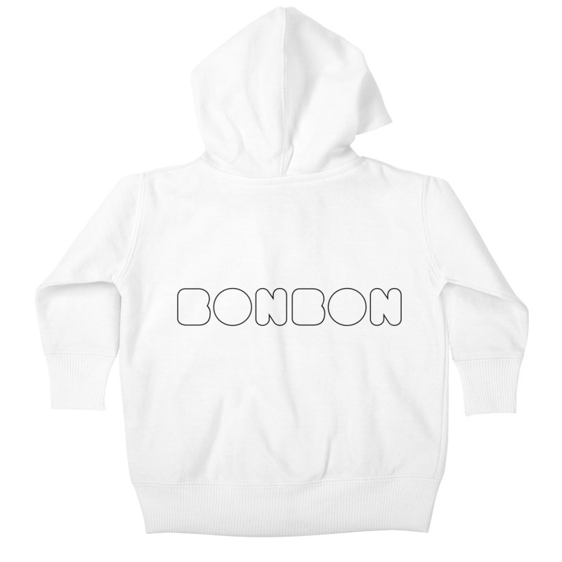 BONBON (I'm sweet like a candy) Tee Kids Baby Zip-Up Hoody by MadeByBono