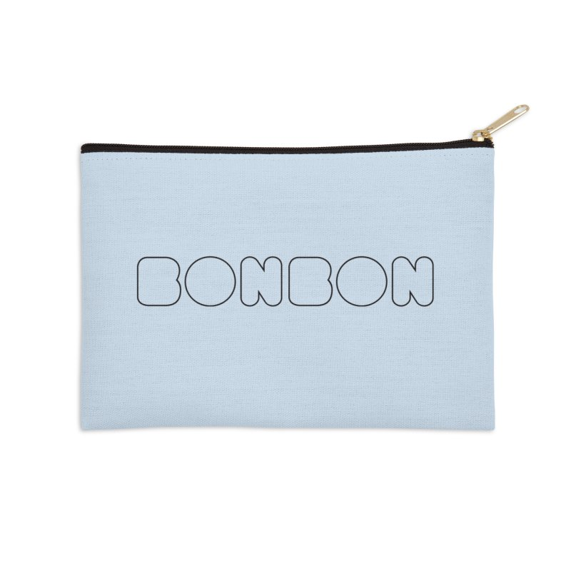 BONBON (I'm sweet like a candy) Tee Accessories Zip Pouch by MadeByBono