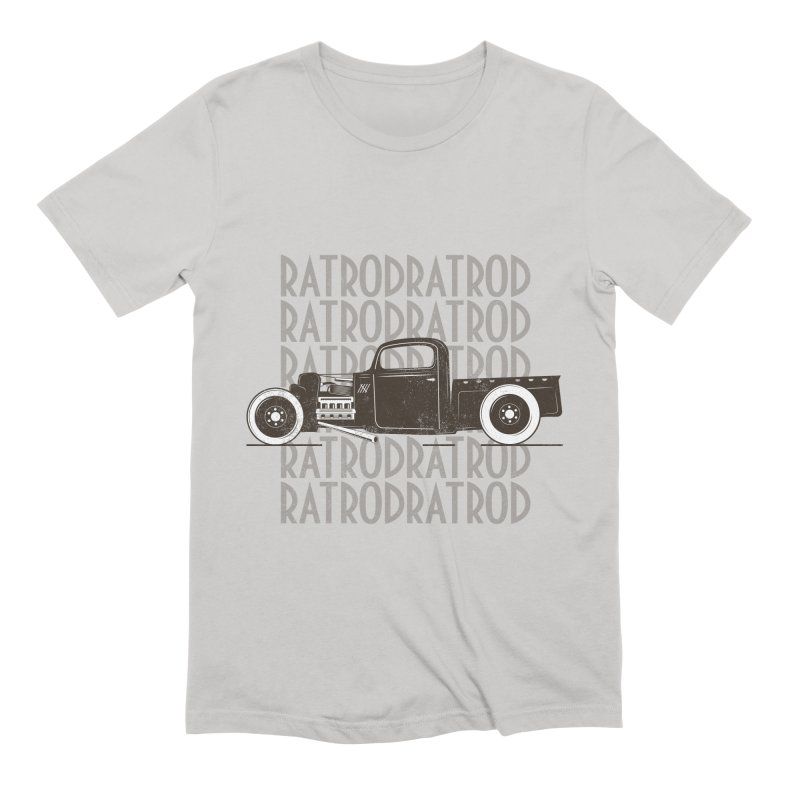 Rat Rod Hot Rod T-shirt Men's Extra Soft T-Shirt by MadeByBono