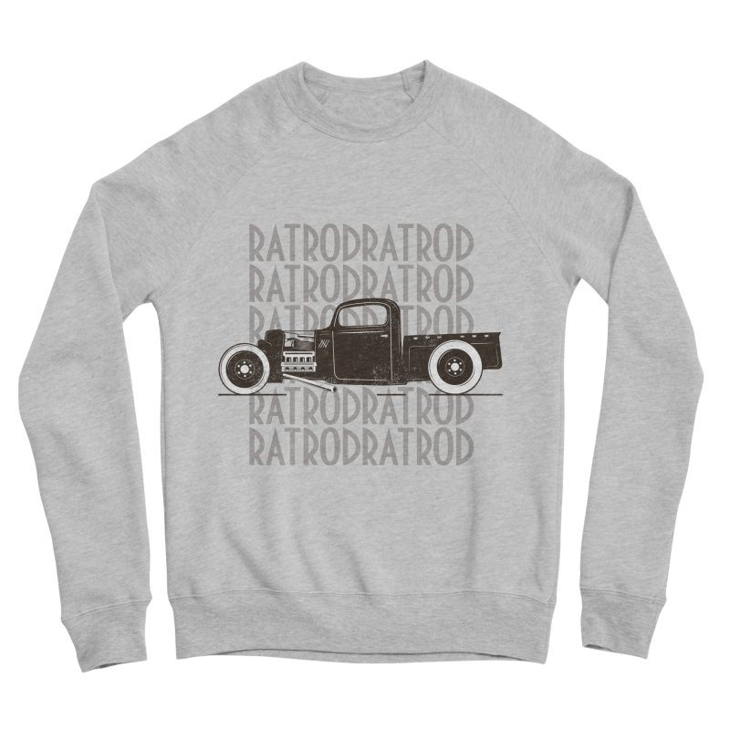 Rat Rod Hot Rod T-shirt Women's Sponge Fleece Sweatshirt by MadeByBono