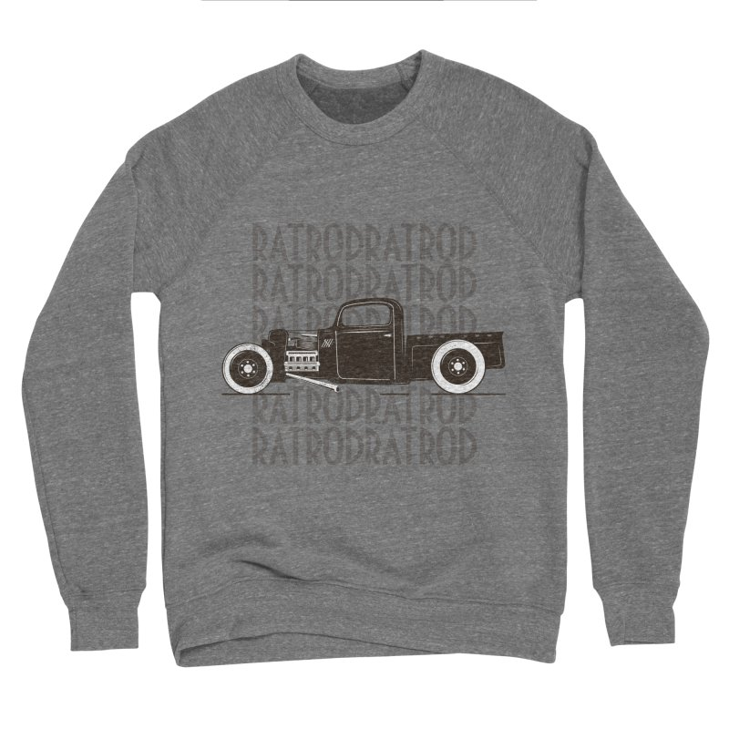 Rat Rod Hot Rod T-shirt Men's Sponge Fleece Sweatshirt by MadeByBono