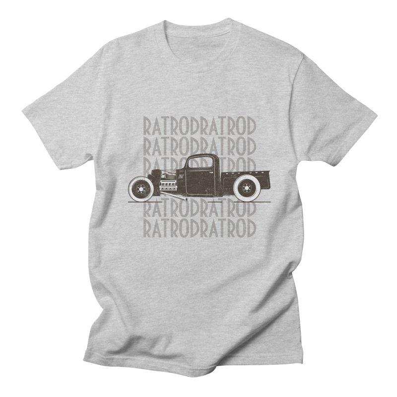 Rat Rod Hot Rod T-shirt Women's Regular Unisex T-Shirt by MadeByBono