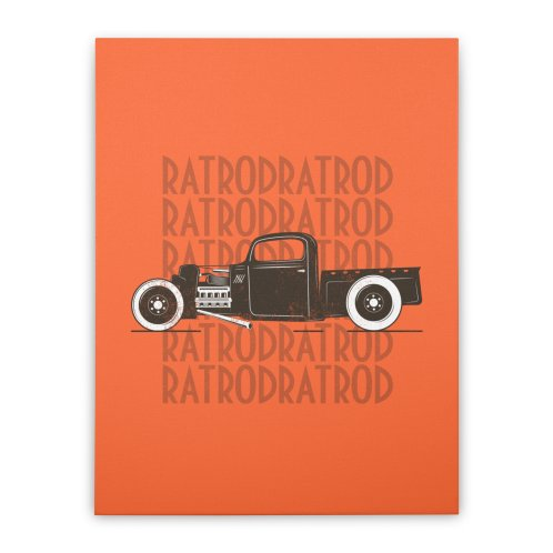 image for Rat Rod Hot Rod T-shirt