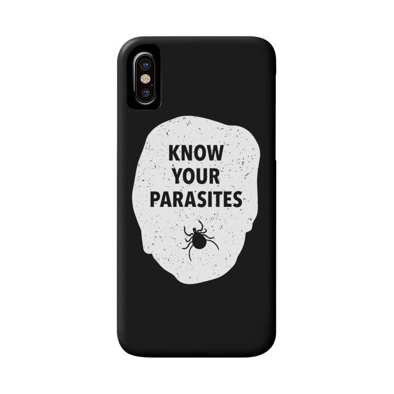 Know Your Parasites T-shirt Accessories Phone Case by MadeByBono