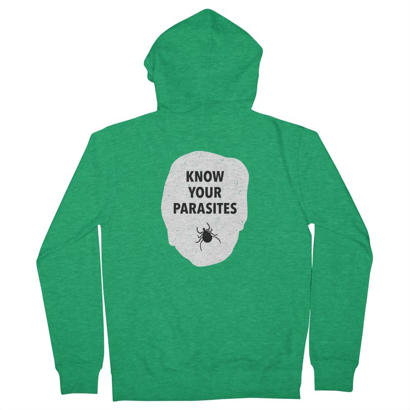 Know Your Parasites T-shirt Men's Zip-Up Hoody by MadeByBono