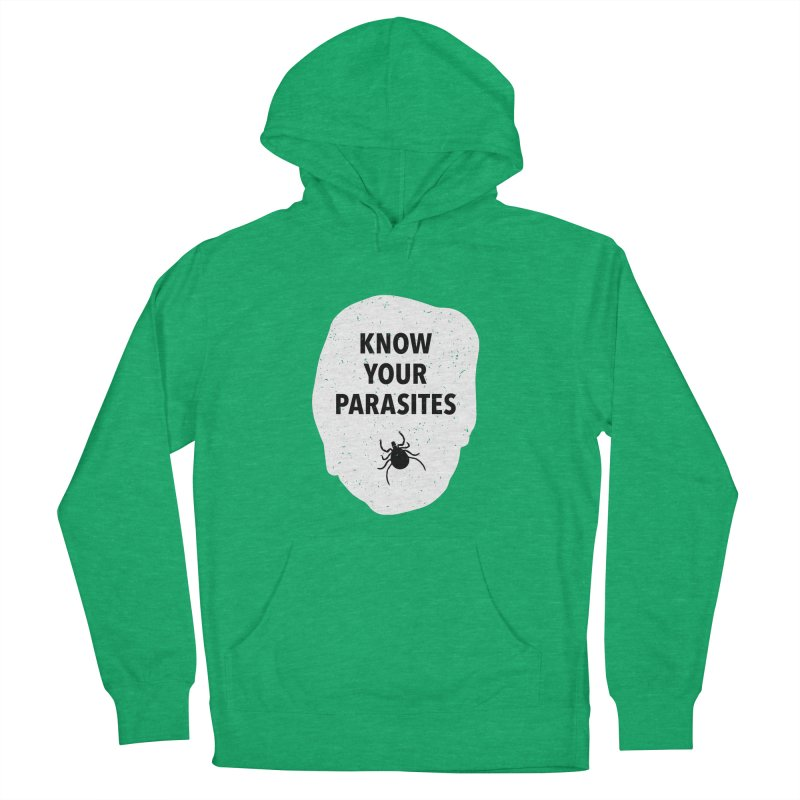 Know Your Parasites T-shirt Men's French Terry Pullover Hoody by MadeByBono