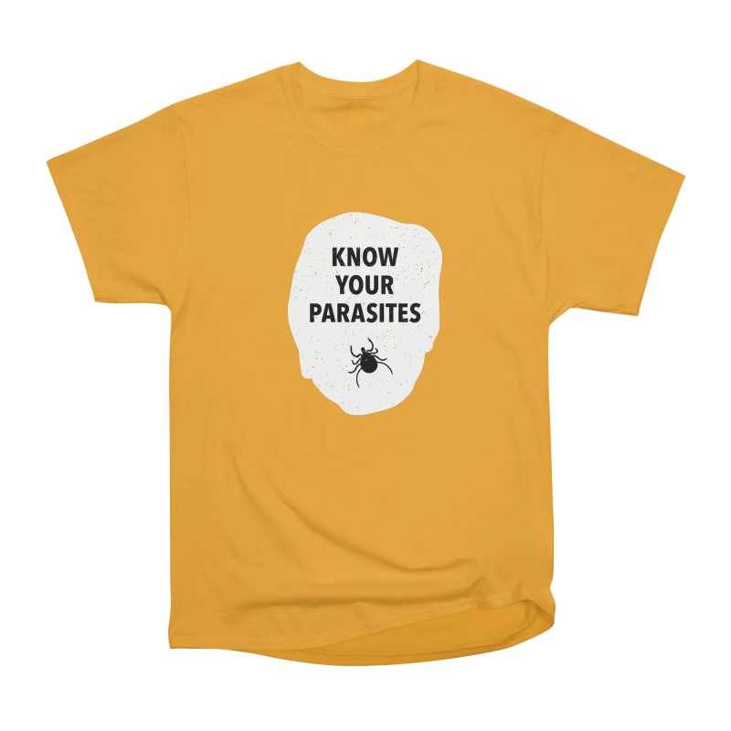 Know Your Parasites T-shirt Men's Heavyweight T-Shirt by MadeByBono