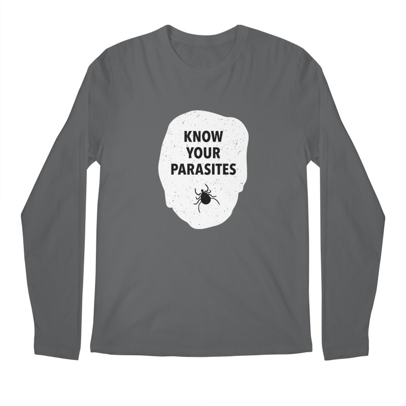 Know Your Parasites T-shirt Men's Regular Longsleeve T-Shirt by MadeByBono