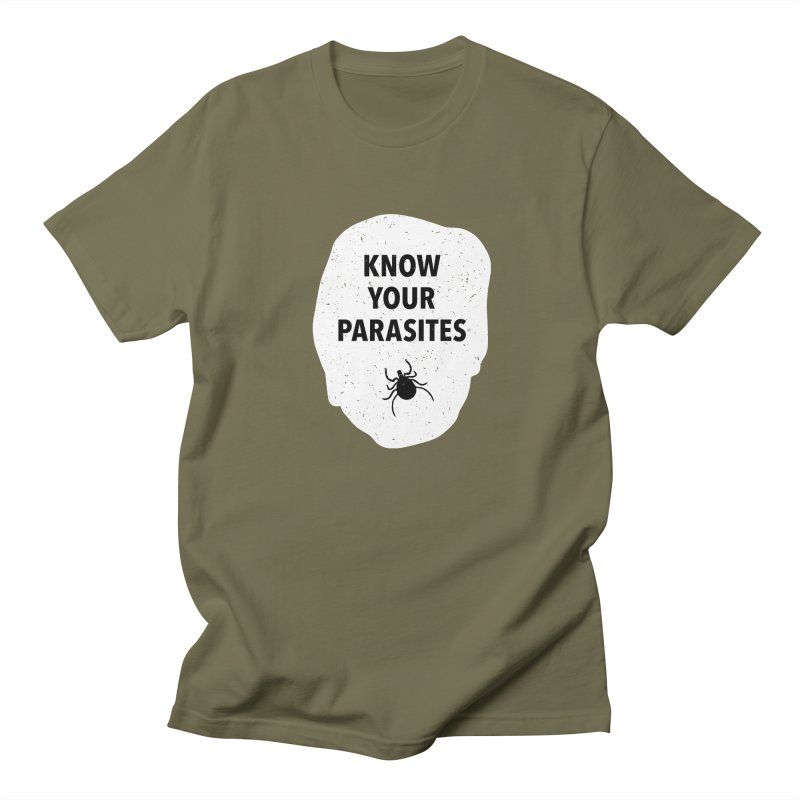 Know Your Parasites T-shirt Men's Regular T-Shirt by MadeByBono
