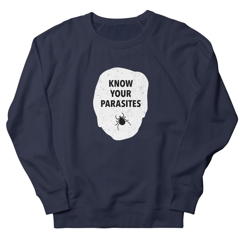 Know Your Parasites T-shirt Men's French Terry Sweatshirt by MadeByBono