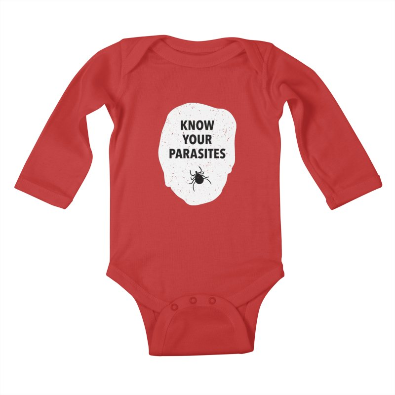 Know Your Parasites T-shirt Kids Baby Longsleeve Bodysuit by MadeByBono
