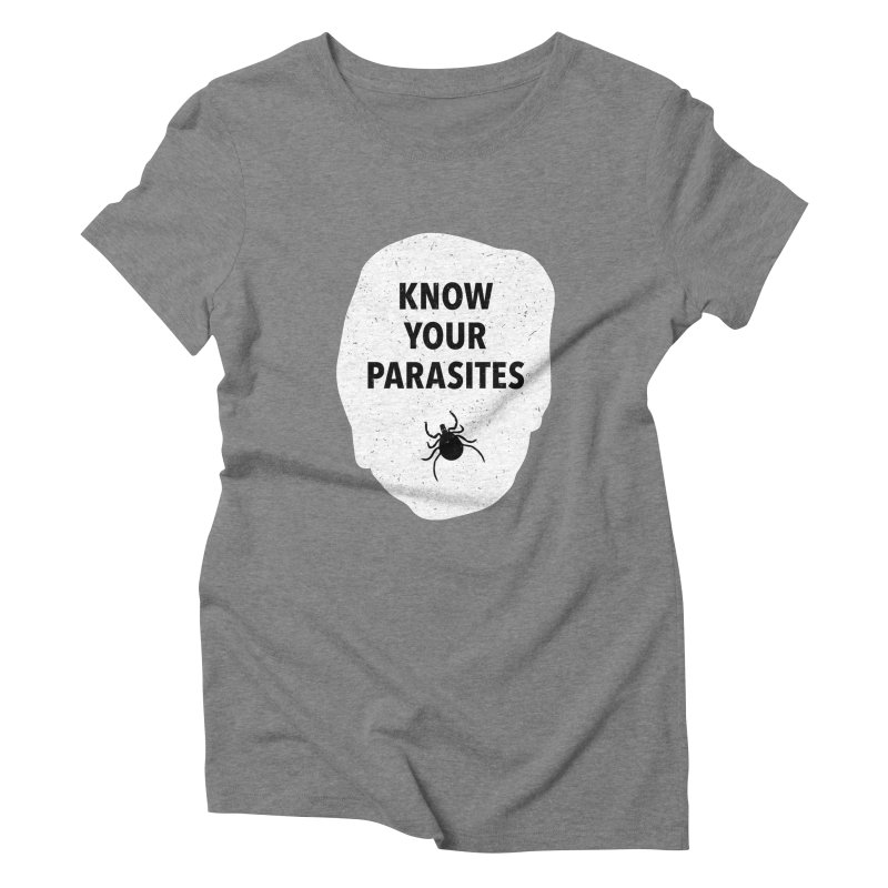Know Your Parasites T-shirt Women's Triblend T-Shirt by MadeByBono