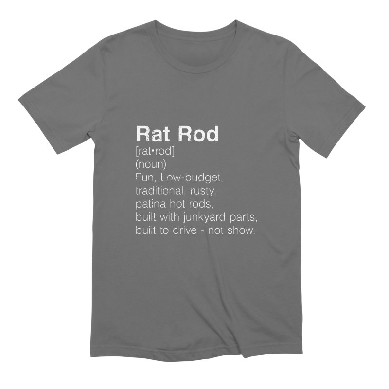 Rat Rod Definition T-shirt Men's Extra Soft T-Shirt by MadeByBono
