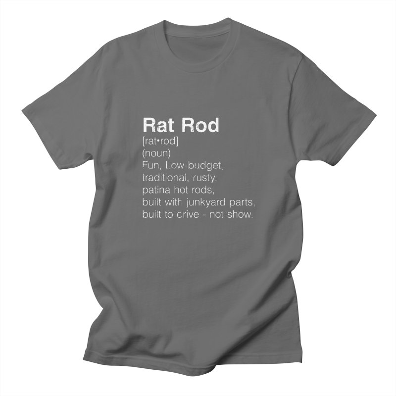 Rat Rod Definition T-shirt Men's T-Shirt by MadeByBono