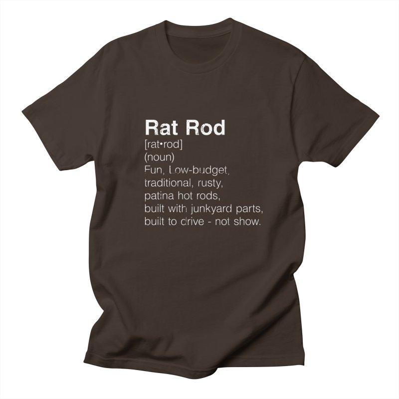 Rat Rod Definition T-shirt Men's Regular T-Shirt by MadeByBono