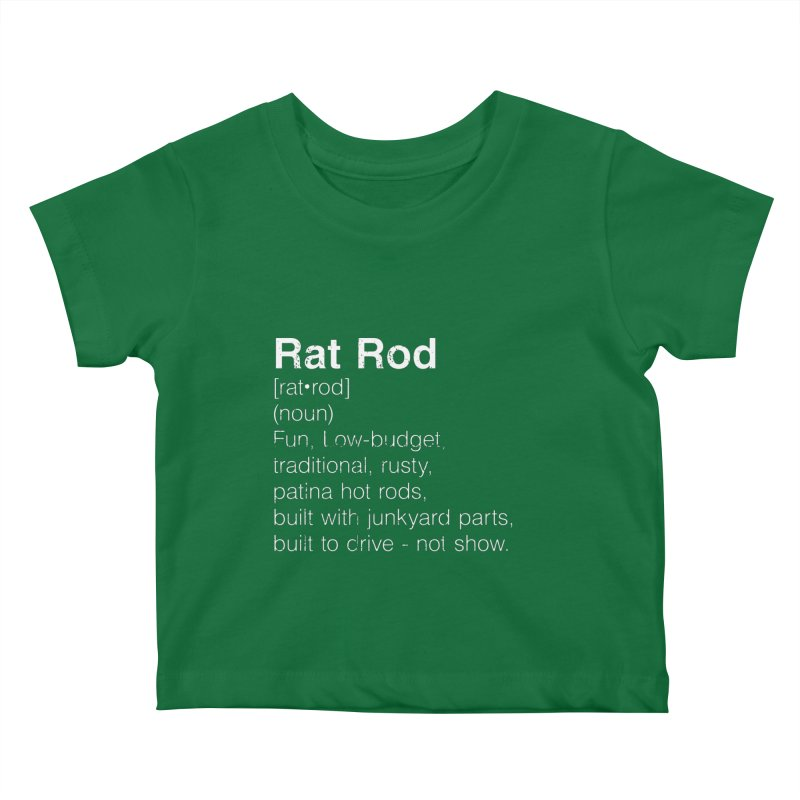 Rat Rod Definition T-shirt Kids Baby T-Shirt by MadeByBono