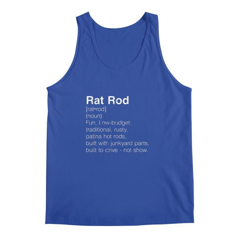 Rat Rod Definition T-shirt Men's Regular Tank by MadeByBono