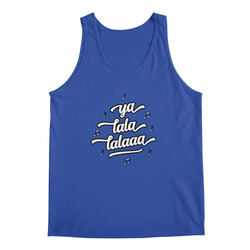 Ya Lala Lalaaa T-shirt Men's Regular Tank by MadeByBono