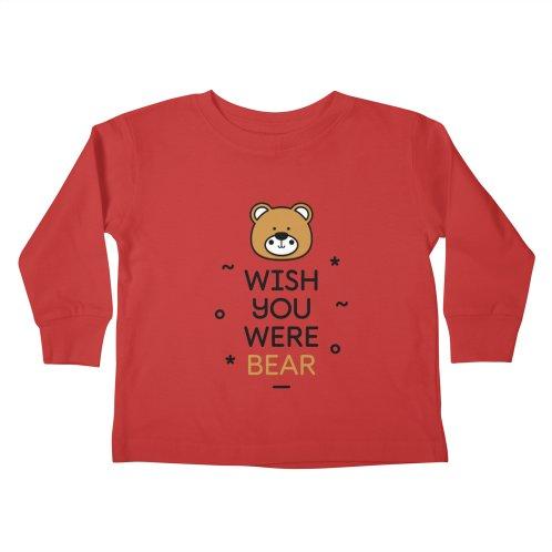 ea345b2d Shop MadeByBono on Threadless kids toddler-longsleeve-t-shirt