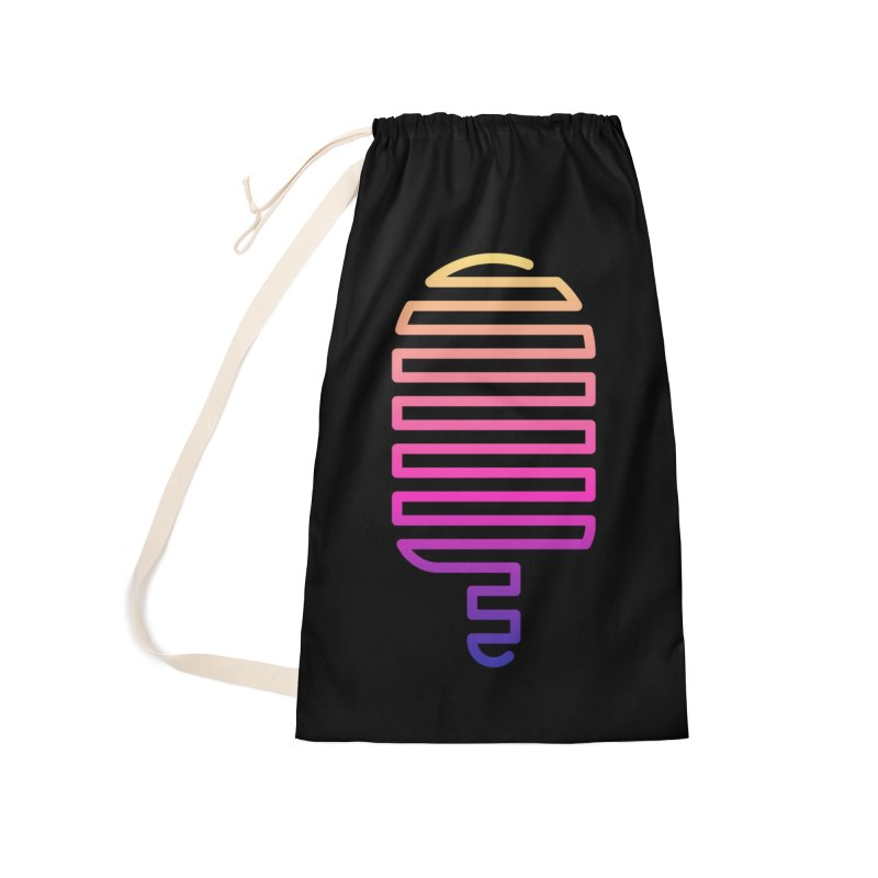 Linear Ice Cream T-shirt Accessories Laundry Bag Bag by MadeByBono